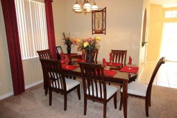 Beautiful formal dining area